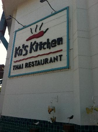 Ko's Kitchen Thai Restaurant: 缅甸较好的泰餐