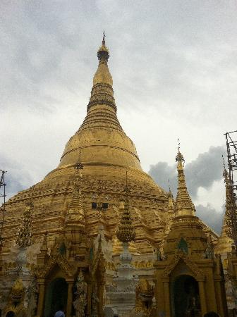 Pagode Shwedagon : 金碧辉煌