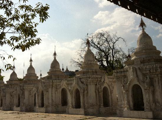 Kuthodaw Pagoda & the World's Largest Book : 最大的书