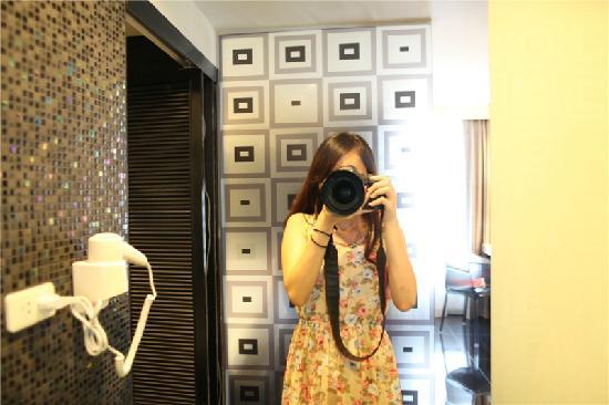 Ibis Styles Chiang Mai : 浴室一角