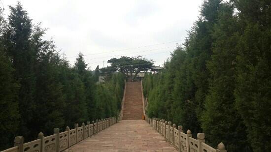 Zhongyang County, Kina: 怕洼山