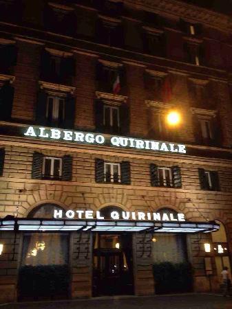 Quirinale Hotel : 酒店外观