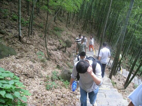Xiamen Wulao Mountain: 爬山累啊!