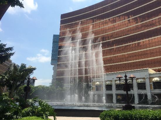 Wynn Macau: 音乐喷水池