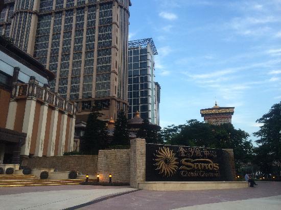 Sands Cotai Central: 外观