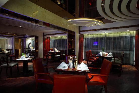 Shandong Hotel: 坐落在19楼的名士轩,可以为入住行政楼层和21楼层客人办理快捷入住、退房手续