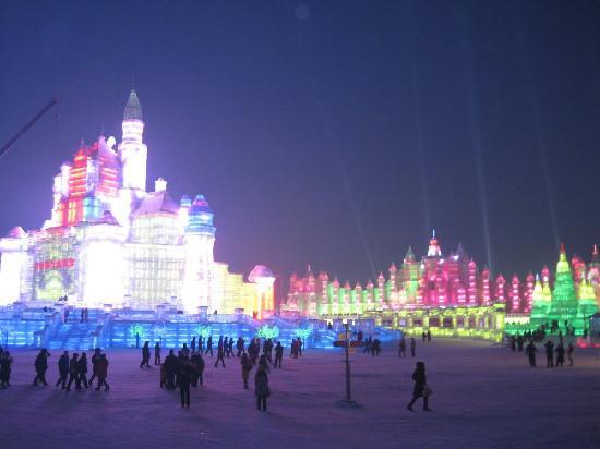 Parque de Atracciones de Hielo y Nieve de Harbin: 美轮美奂