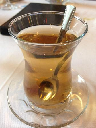 Istanbul Enjoyer Cafe & Restaurant : 苹果茶