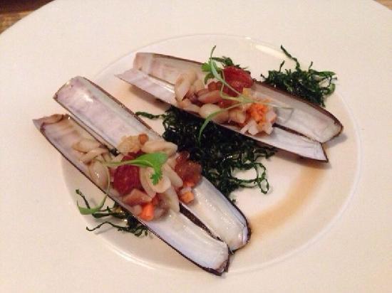 A. Wong: 海鲜,特别好的味道