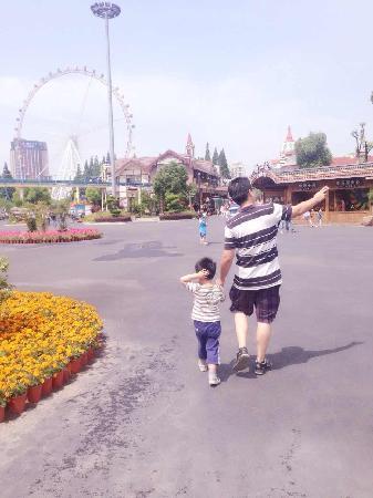 Jinjiang Amusement Park: 翻新之后还不错