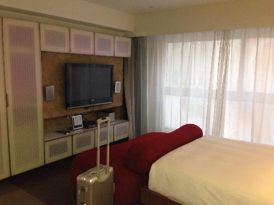 V Wanchai Hotel: 住到过的香港最大的房间