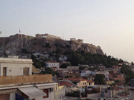 Athos Hotel: The view from garden