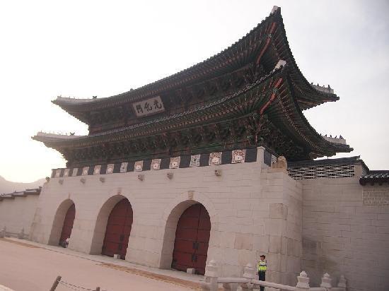 Gwanghwamun Gate: 光化门