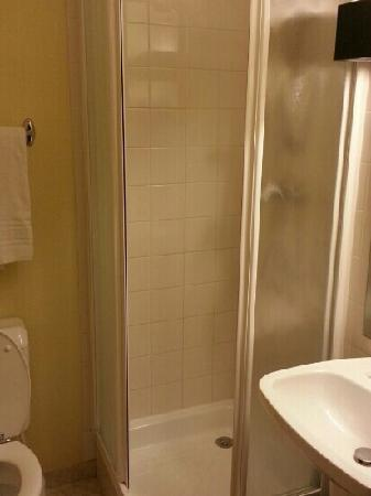 Hotel des Celestins: 小巧的洗手间