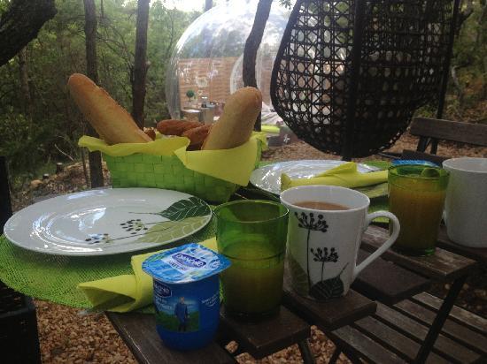 Attrap'Reves: 早餐