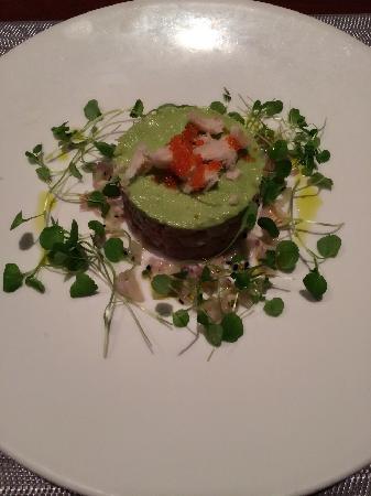 Orbit : Avocado with raw fish