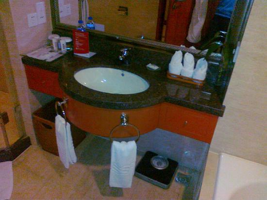 Crowne Plaza Wuhu : 洗手池