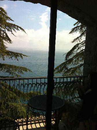 Il Saraceno Grand Hotel: 卧房看出去
