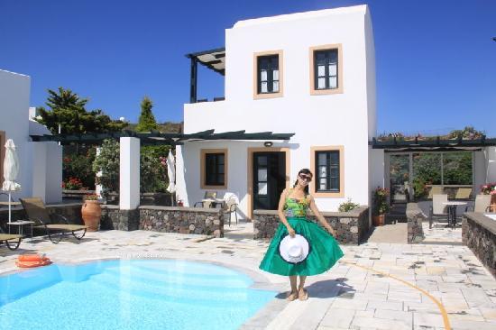 Anthonas Apartments : 美丽难忘的安索纳斯花园酒店