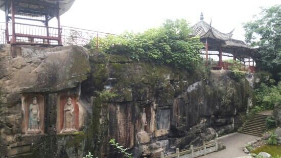 Bazhong, China: 亭子