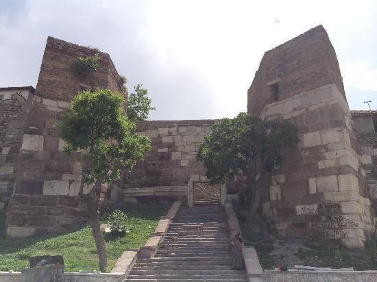 Ankara Castle : 安卡拉城堡围墙