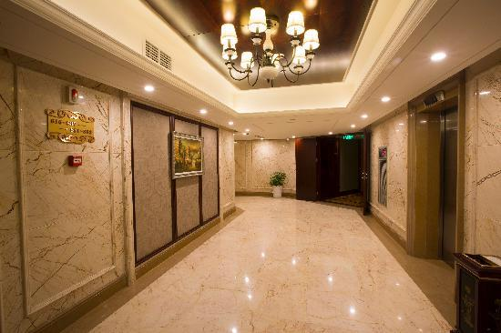 Olympic Holiday Hotel: 廊厅