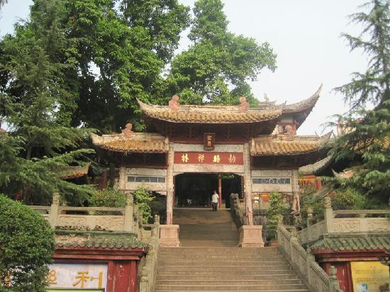 Huating Temple : 西山公园里的华亭寺