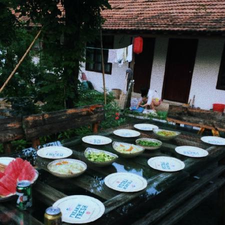 Naturalhome Hotel Moganshan Deqing : BBQ准备完毕!