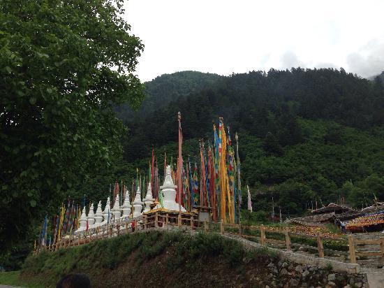 Jiuzailing Temple : 灵塔