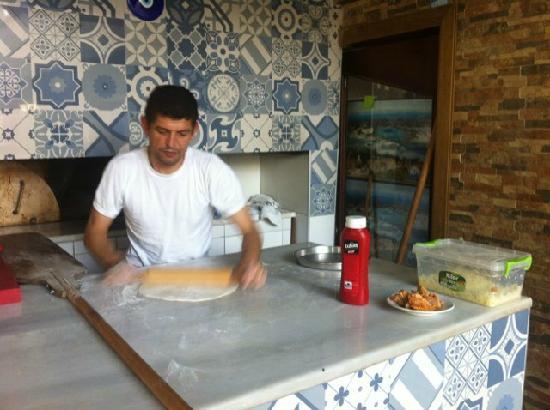 Ozbay Hotel Restaurant : 披萨2