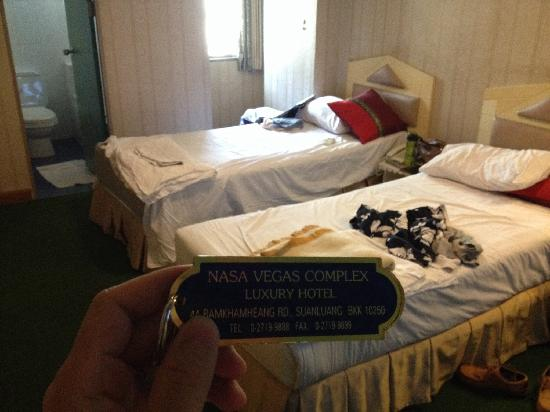 Nasa Vegas Hotel: 房间