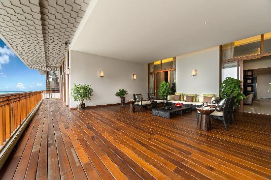 Wenchang Shanhaitian Hotel : 总统套房阳台
