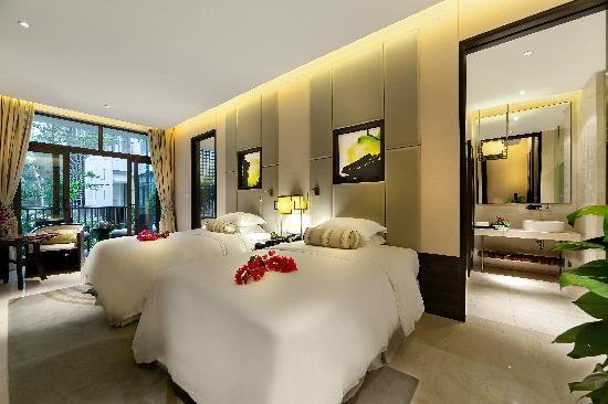 Wenchang Shanhaitian Hotel : 豪华双床房