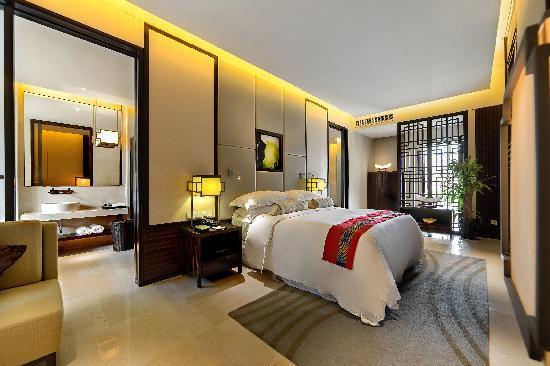 Wenchang Shanhaitian Hotel : 豪华大床房
