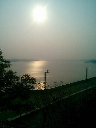 Nanhuwan Scenic Resort: 黄昏日落
