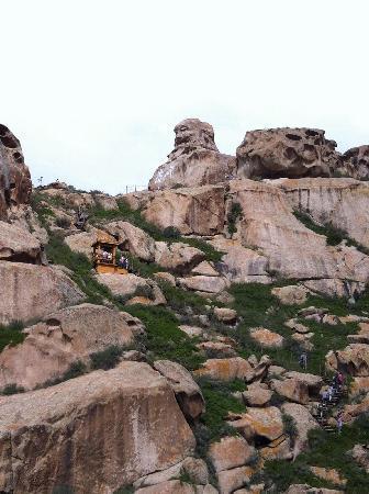 Rocks Ditch of Xinjiang : 怪石峪佛谷