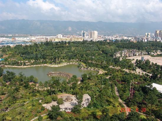 Xuanwei, China: 酒店观景