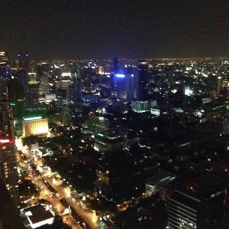 Moon Bar Bangkok : night view