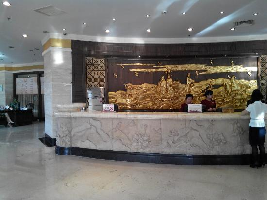 Golden Lotus Herton Seaview Hotel: 前台