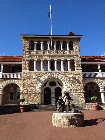 The Perth Mint: 门面