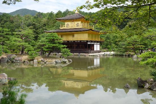 Kinkaku-ji (Goldener-Pavillon-Tempel): 静谧