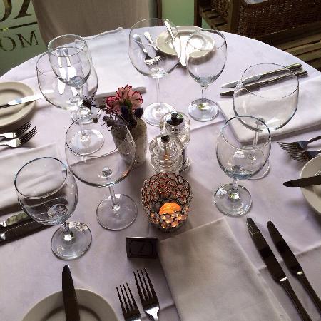 Oxo's Restaurant: Table set