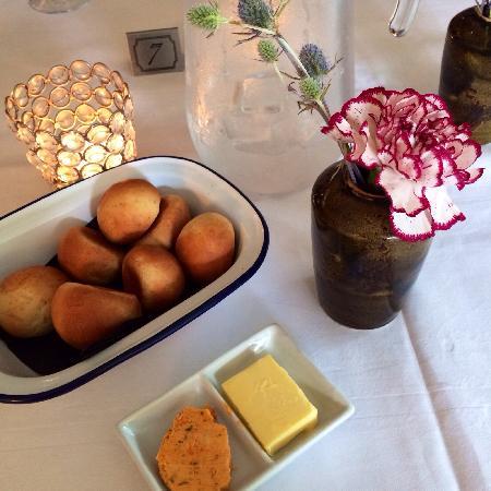 Oxo's Restaurant: Complimentary bread