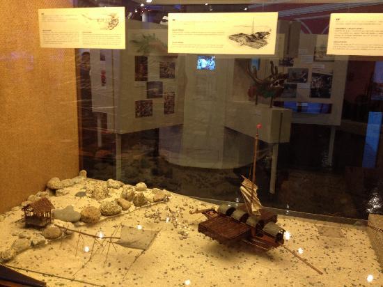 Maritime Museum: 展示模型