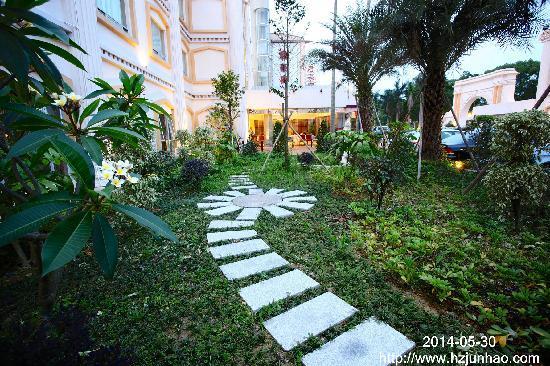 Grand Hotel Lakeside: 酒店花园