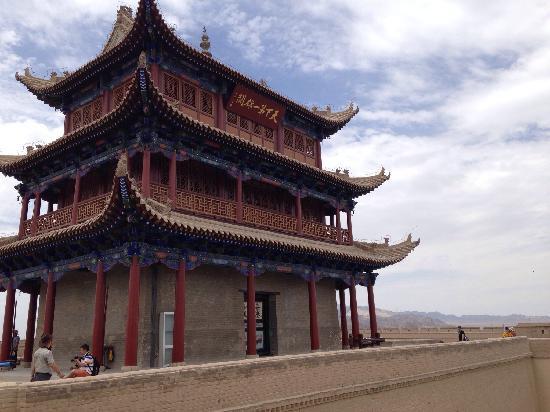 Great Wall at Jiayuguan Pass : 漂亮