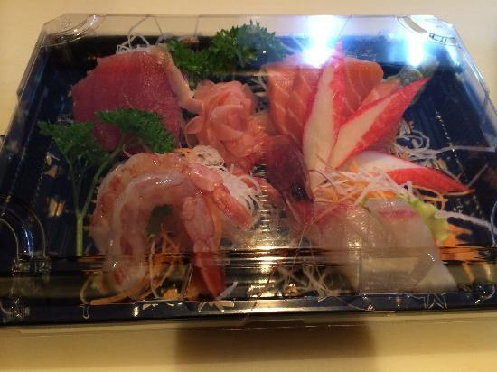 Луго, Италия: Sashimi misto da asporto