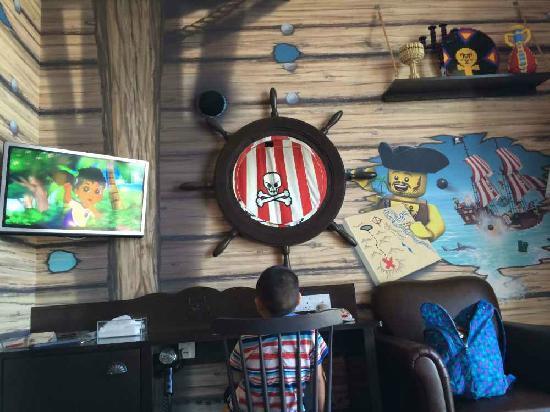 Legoland Malaysia Resort: 海盗主题套房