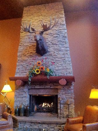 The Lodge at Jackson Hole : 大厅 前台