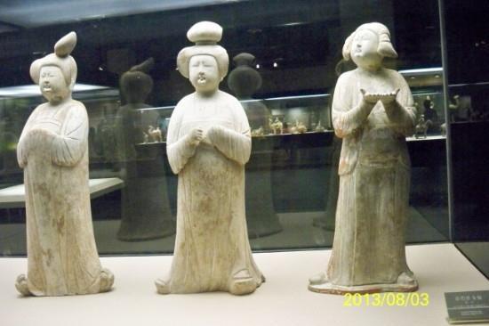 Xi'an Museum: 博物馆里的唐代文物